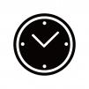 時計のシルエット