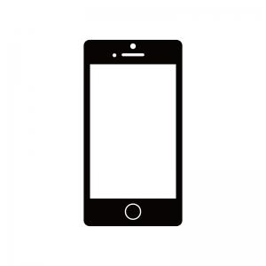 スマートフォンのシルエット02