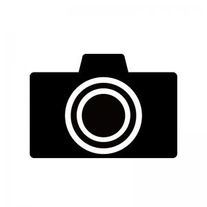 一眼レフカメラのシルエット02