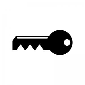 鍵のシルエット02