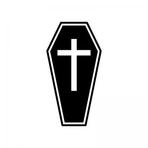 十字架のシルエット