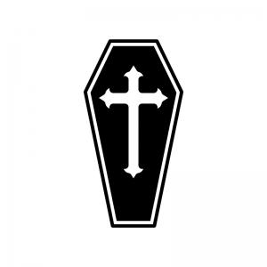 十字架のシルエット02
