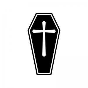 十字架のシルエット03