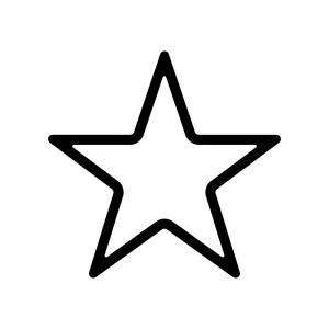 星のシルエット02