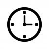 時計のシルエット02