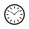 時計のシルエット03