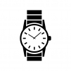 腕時計のシルエット02
