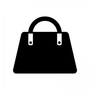女性用バッグのシルエット