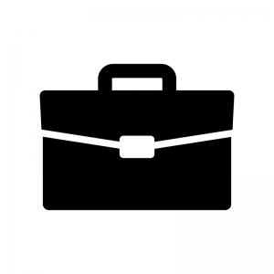 ビジネスバッグのシルエット02