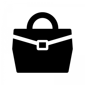汎用的なバッグのシルエット