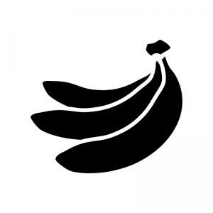 バナナのシルエット