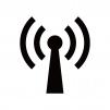 電波マークのシルエット