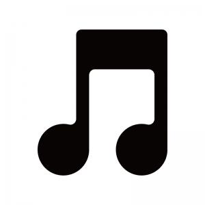 音符のシルエット
