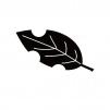 枯葉・落ち葉のシルエット