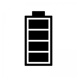 電池残量マークのシルエット02