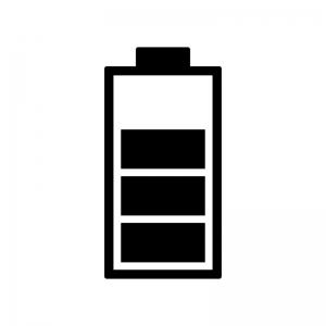 電池残量マークのシルエット03