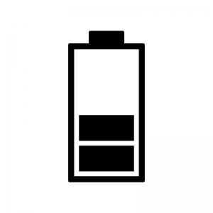 電池残量マークのシルエット04
