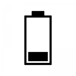 電池残量マークのシルエット05