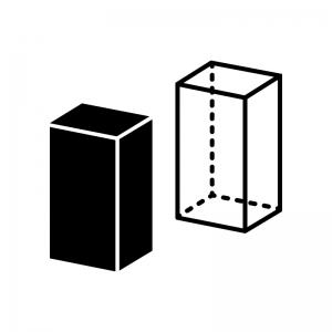 四角柱(直方体)