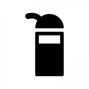醤油の白黒シルエットイラスト02
