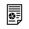 ビジネス資料の白黒シルエットイラスト02