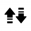 データ通信の白黒シルエットイラスト