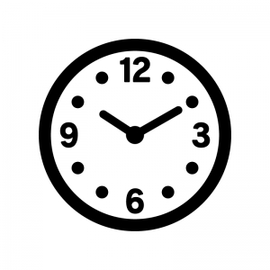 「フリーイラスト 時計」の画像検索結果