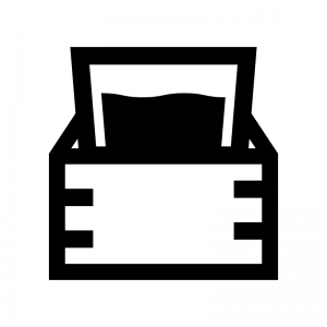 升酒の白黒シルエットイラスト