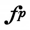 フォルテピアノの白黒シルエットイラスト