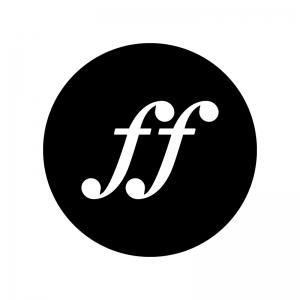 フォルティッシモの白黒シルエットイラスト02