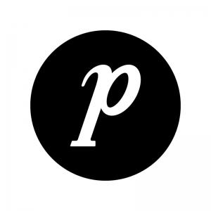 ピアノ記号の白黒シルエットイラスト02