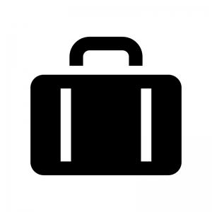 カバンバッグのシルエット02 無料のaipng白黒シルエットイラスト