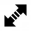 データ通信の白黒シルエットイラスト03