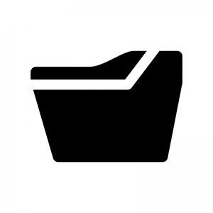 洋式トイレの白黒シルエットイラスト03