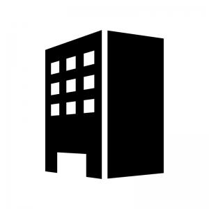 建物・ビルのシルエット
