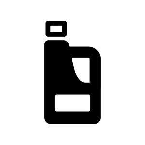 洗濯洗剤・漂白剤の白黒シルエットイラスト02