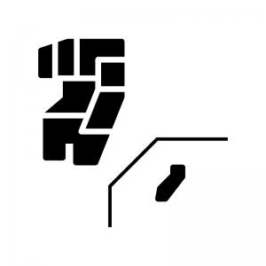 九州沖縄地方のシルエット02 無料のaipng白黒シルエットイラスト