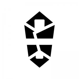 熨斗(のし)のシルエットイラスト02