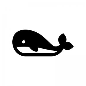 クジラのシルエット 無料のaipng白黒シルエットイラスト