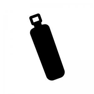 のり・文房具の白黒シルエットイラスト02