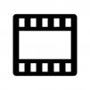 動画の白黒シルエットイラスト
