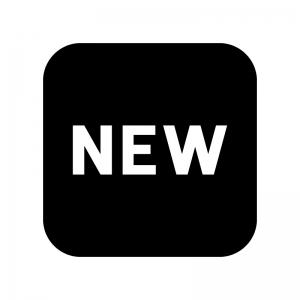 NEWの白黒シルエットイラスト02