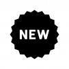 NEWの白黒シルエットイラスト03