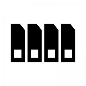プリンターのインクの白黒シルエットイラスト