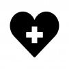 健康の白黒シルエットイラスト02