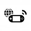 オンラインゲームの白黒シルエットイラスト02