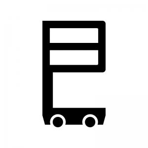 室内高所作業車の白黒シルエットイラスト02